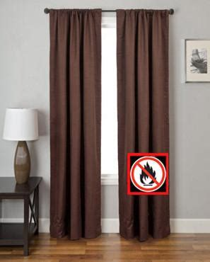 louis hornick curtains firefend flame retardant curtain panels louis hornick