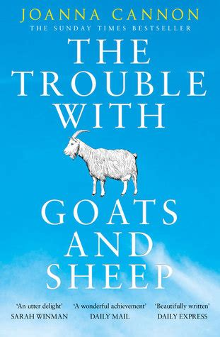 flat with two goats a memoir books the trouble with goats and sheep by joanna cannon