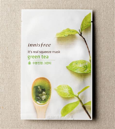 Innisfree I Ts Real Squeeze Mask mặt nạ innisfree it s real squeeze mask jeju cosmetics