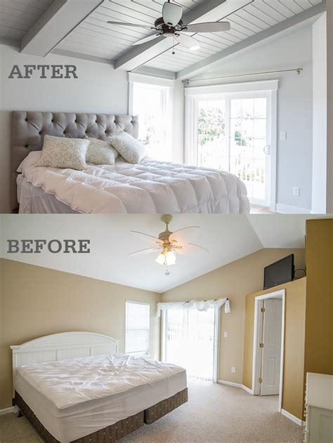 how to renovate a bedroom before after photos of a surfside beach vacation home