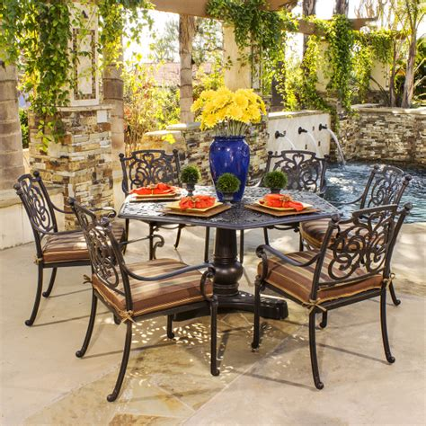 St Augustine Cast Aluminum Dining Patio Furniture By Hanamint St Augustine Patio Furniture