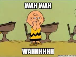 Charlie Brown Memes - charlie brown teacher doom