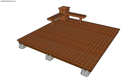deck plans deck plans free