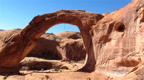 moab rope swing corona arch rope swing youtube