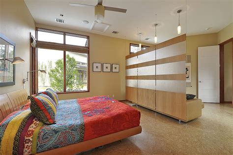 ideas to divide a bedroom room divider in the contemporary master bedroom with