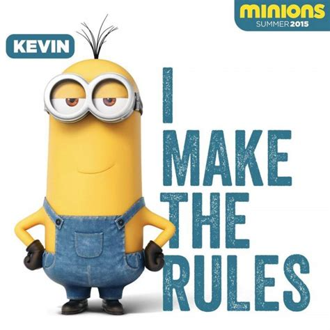 imagenes del minions kevin minions images i make the rules wallpaper and background