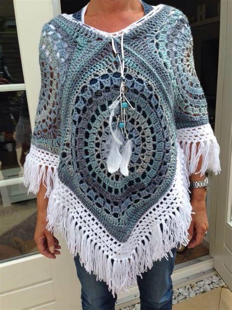 crochet poncho pattern free pinterest 1000 images about jackets p 229 pinterest drops design