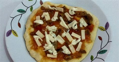 membuat adonan pizza tanpa ragi resep pizza crispy tanpa ragi tanpa dioven oleh ay ay