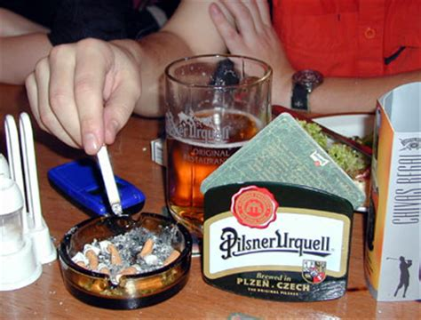 restaurants with smoking sections government plans to ban smoking curb drinking in