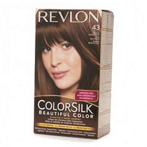revlon colorsilk colors revlon colorsilk hair color dye medium golden brown 43
