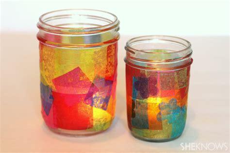 glass jar crafts 3 jar crafts for
