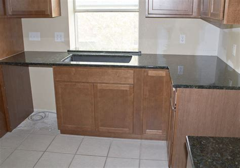 l shaped counter peacock green granite kitchen round rock texas