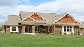 Ranch Open Floor Plans craftsman style ranch home elevations modern ranch style