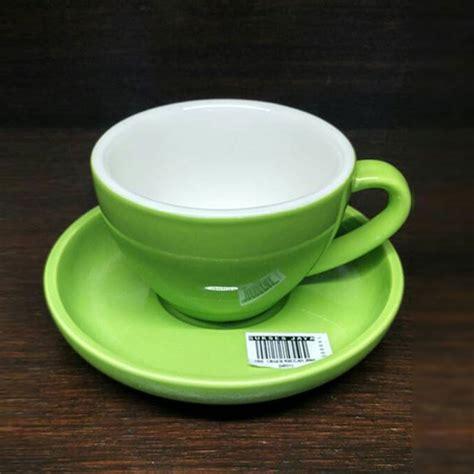 Gelas Duralex 200 Ml Gelas Kopi Gelas Latte jual cangkir porselen yami 200ml green suksesjaya