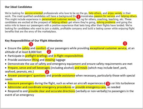 cabin manager description flight attendant resume sle complete guide 20