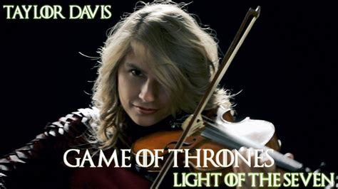 of thrones light of thrones light of the seven violin cover