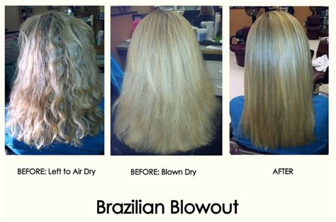 brazaillan blowout for curly hair jahjong brazilian blowout before and after photos