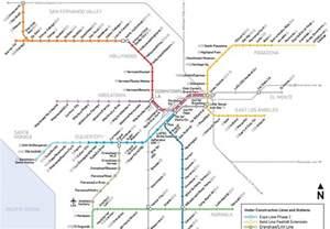La Metro Map by Los Angeles Metro Map Tourism Fiji
