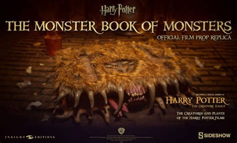 the of harry potter books harry potter book of monsters replica