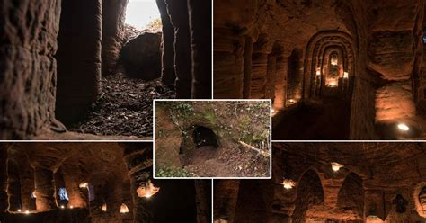 700 year old cave stunning 700 year old giant cave used by knights templar