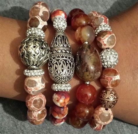 pin by frazier jewelry on beaded bracelet sets