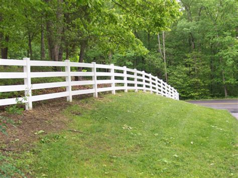 four rail vinyl fence vinyl board fences richmond virginia atlantic fence