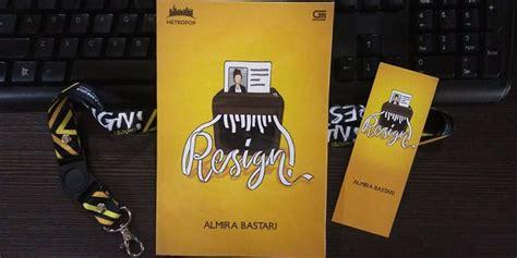Resign Almira review novel resign karya almira bastari vemale