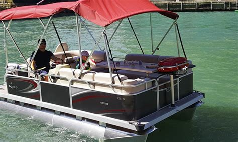 chicago river pontoon boat rental boat rental or fireworks cruise bbq pontoons groupon