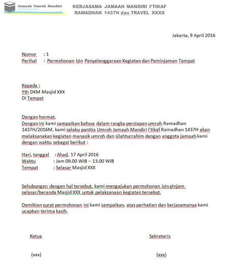 Contoh Surat Izin Sakit Pns by Contoh Surat Izin Umroh Untuk Guru Contoh Surat