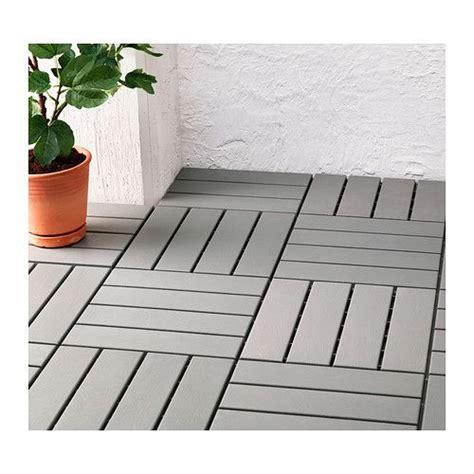 ikea terrassenplatten runnen floor decking outdoor gray terrace ikea