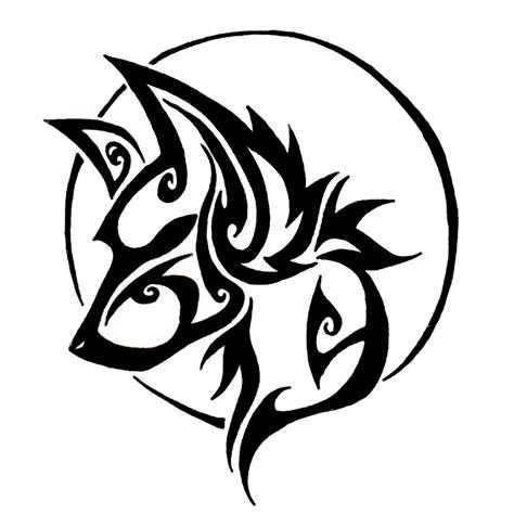 tribal elk tattoo designs sketch coloring page