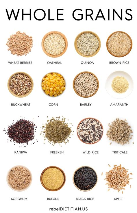 whole grains the inside story exles of whole grains world of exles