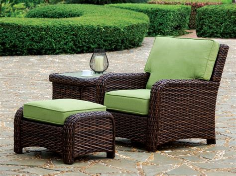 wicker outdoor furniture south sea rattan saint tropez wicker 6 piece conversation