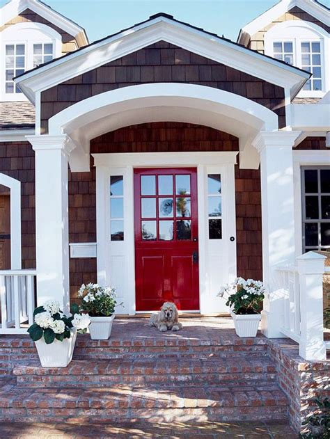 red front doors red doors white trim and doors on pinterest