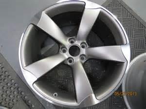 Audi A5 Rotor Wheels Audi A5 S Line Alloy Wheel Refurbishment Rotor Alloy