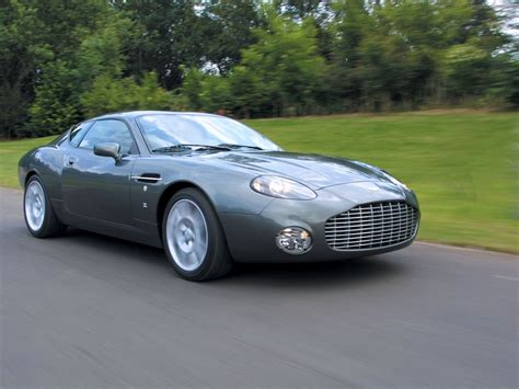 Aston Martin Db7 Zagato Exotic Car Image 010 Of 13