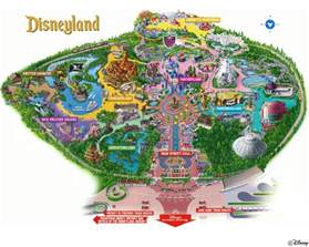 map disneyland florida disney world map 2011