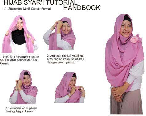 tutorial jilbab segitiga syar i tutorial jilbab syar i yang akan membuat anda menjadi