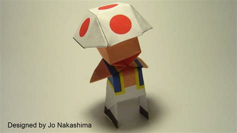 Origami Mario - videogame origami part 2 nintendo and square enix