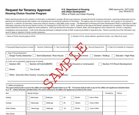 section 8 landlord application form landlords