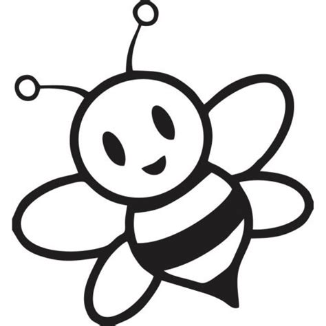 Cute Bumble Bee Coloring Pages Baby Reveal Pinterest Bumble Bees Bees And Craft Bumble Bee Coloring Pages