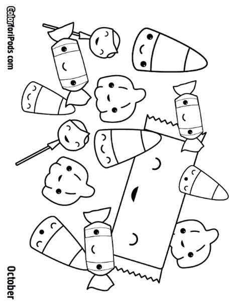 Coloring Page Kawaii by Free Coloring Pages Of Kawaii Things