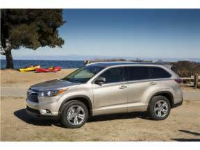 Toyota Highlander 2016 2016 Toyota Highlander Prices Reviews And Pictures U S