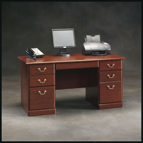 sauder heritage hill desk home furniture home office