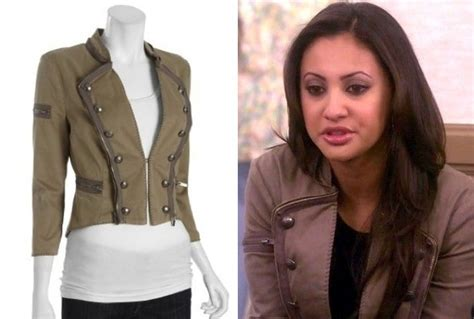 Raisa Jacket francia raisa s jacket on the secret of the american tv fashion