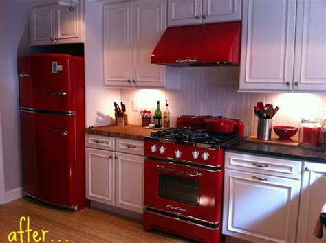 red appliances for kitchen 62 best images about red stoves on pinterest antiques
