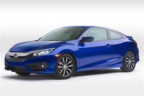 2016 honda civic coupe unveiled at la auto show