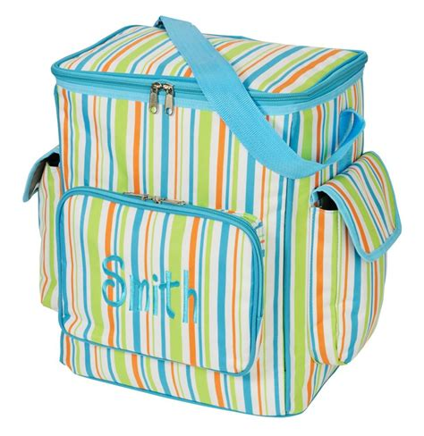 personalized  picnic cooler thermal tote bag easter