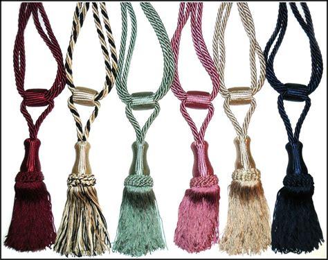 rope tassel curtain tie backs rope tassel curtain tie backs curtains home design