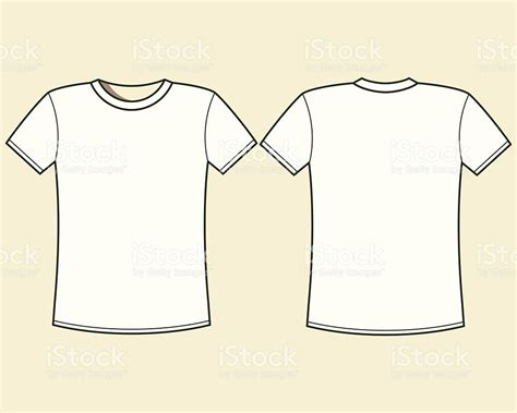blank tshirt template stock vector art 514133609 istock